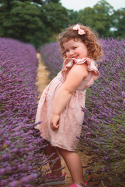 Family Photos at Mayfield Lavender