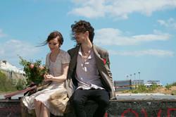 Romantic Couple Portraits at Brighton Beach