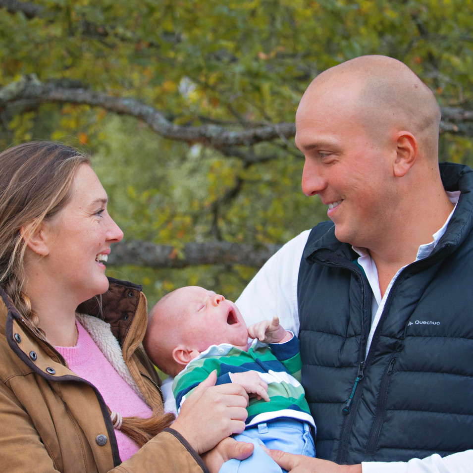 Newborn Family Photoshoot in Surrey