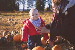 Enjoying the Pumpkins