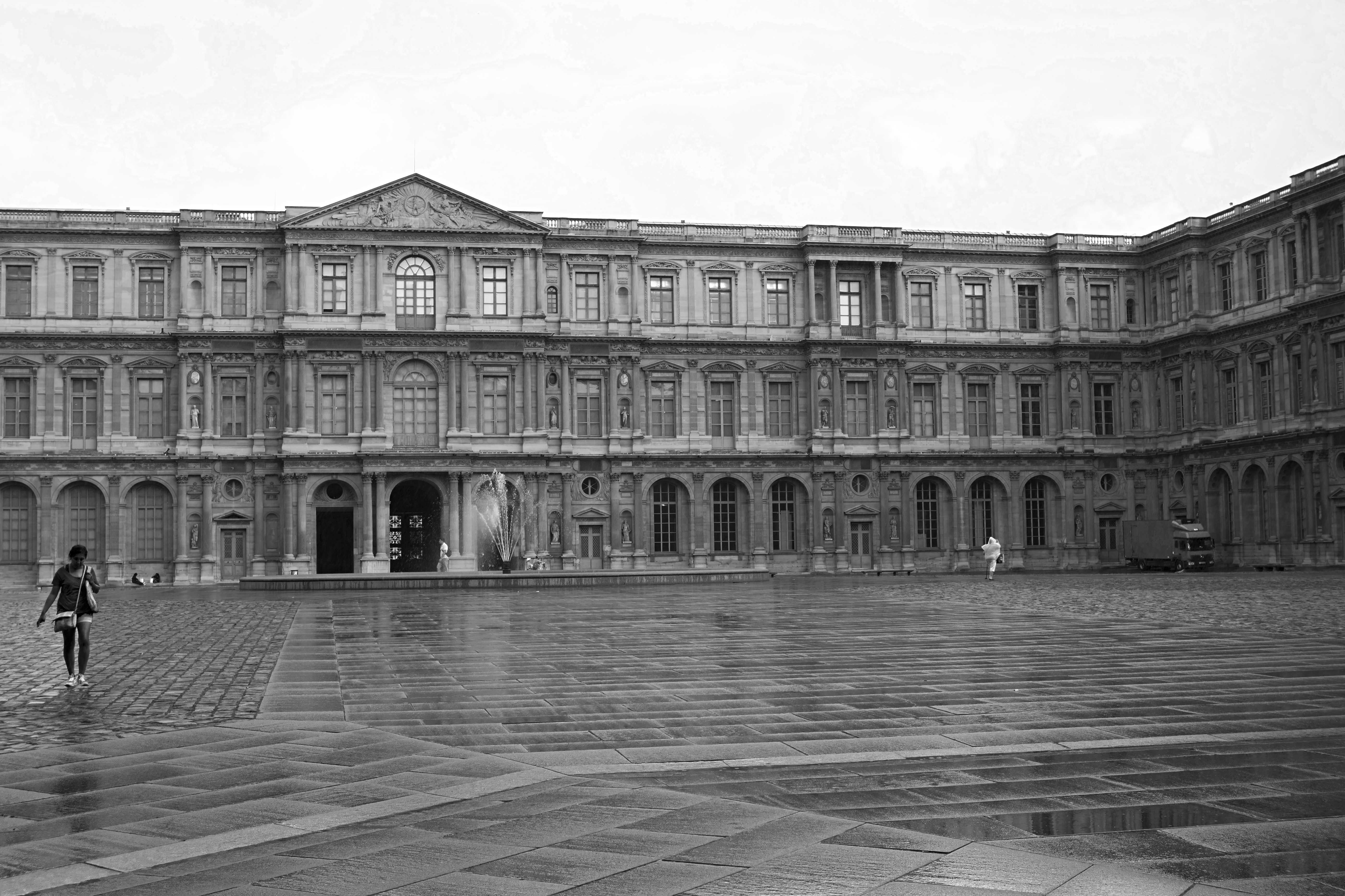 The Lourve, Paris City Buildings