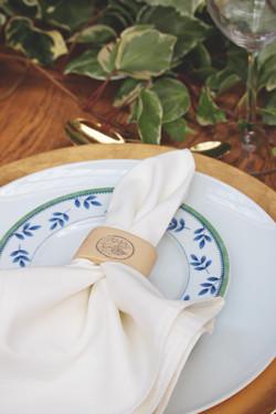 Stunning Tuscan Themed Wedding Table