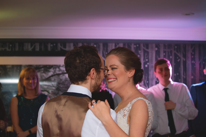 First Dance Winter Wedding