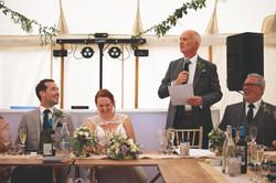 Wedding Speech Photography