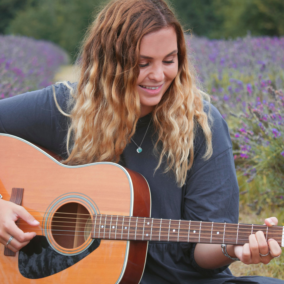 Relaxed Branding Photography in Surrey at the Lavender