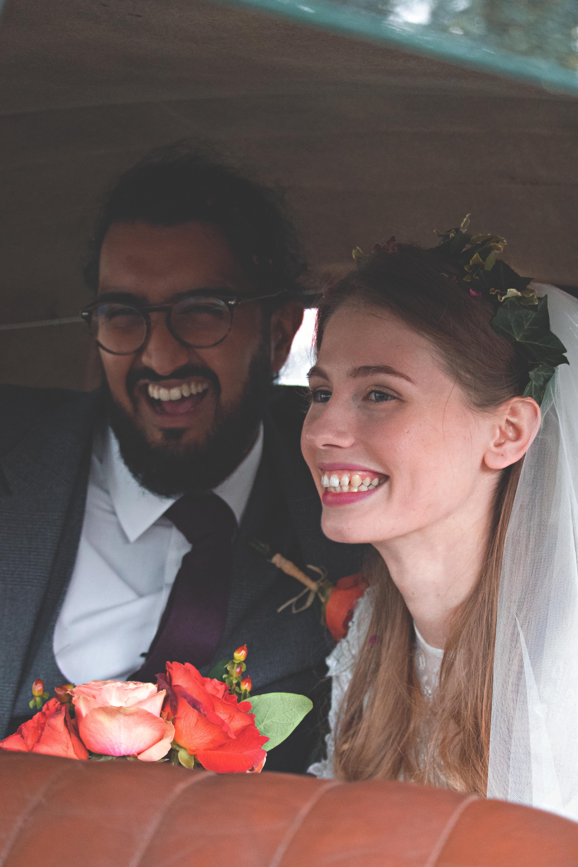 Romantic Wedding Car Couple Shots