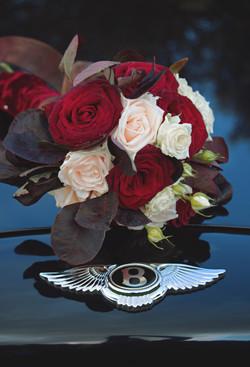 Bentley & 1920s Wedding Florals