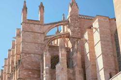 Detail Shot Mallorca Cathedral