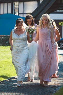 Bridal Party Arrive