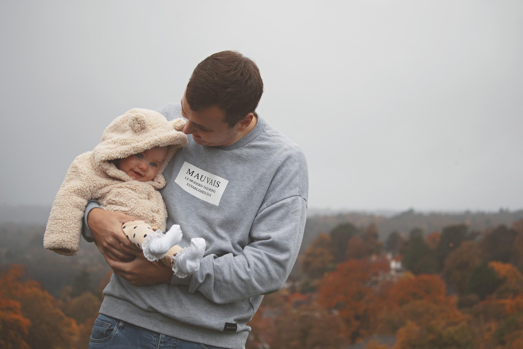 Son & Daughter Family Portrait