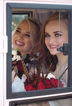 Wedding Shots Inside Prosecco Tuk-Tuk