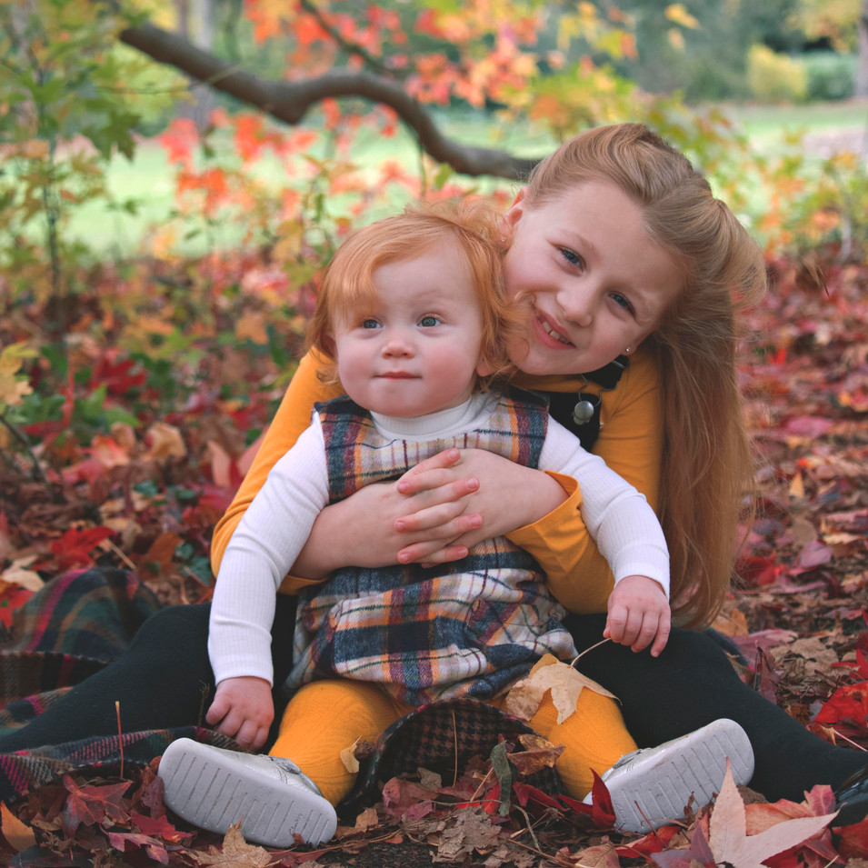 Candid Autumnal Family Photos