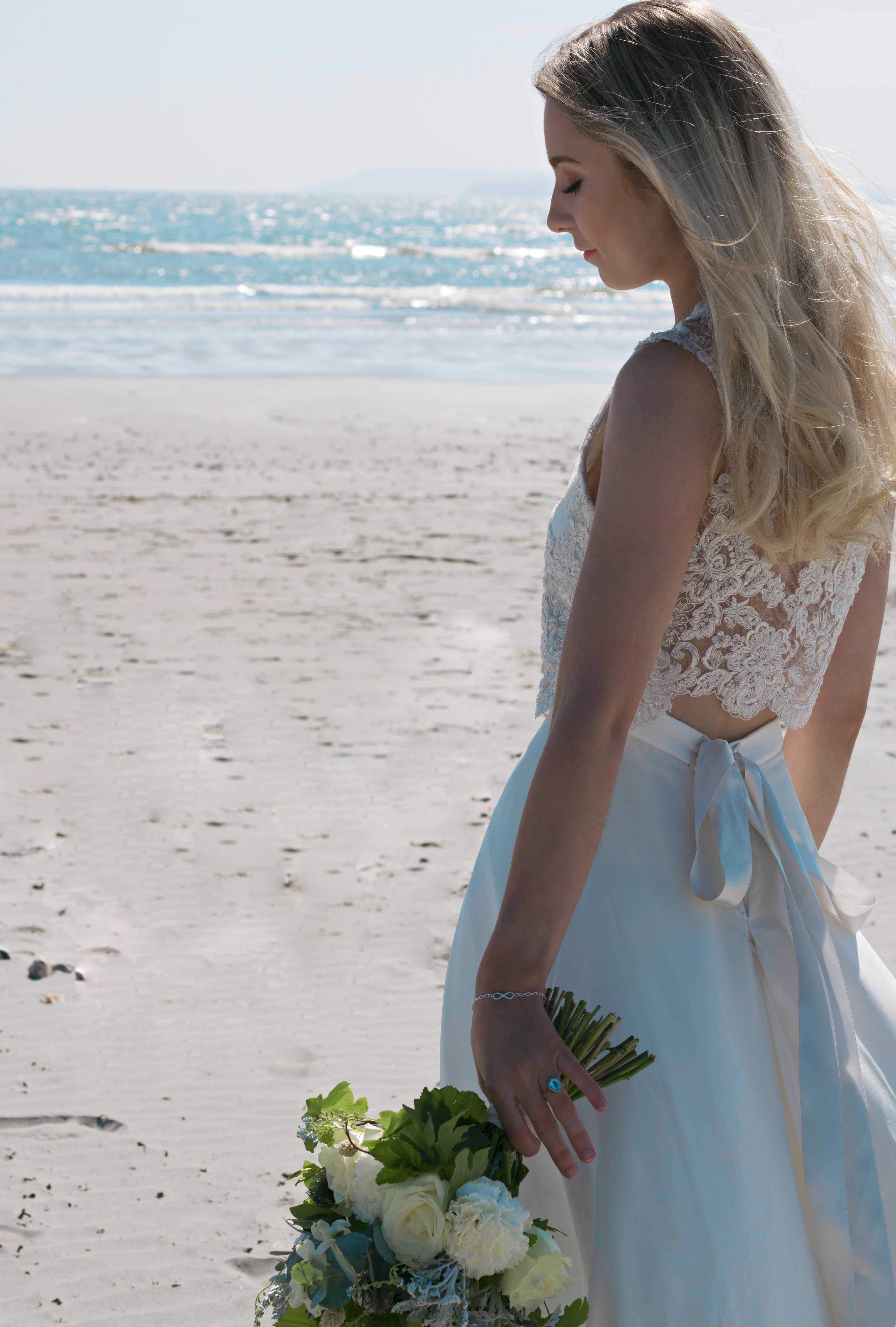 Carefree Beach Bride