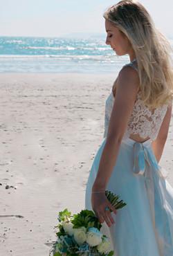 Carefree Beach Bride