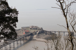 Old Costal Pier Abandoned Landscape Photography