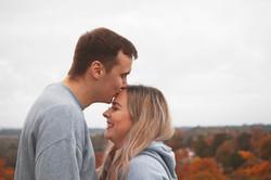 Autumnal Couple Shoot in Surrey