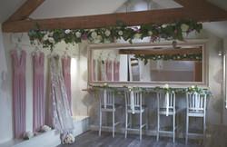 Blush Prink Bridemaids Dresses Bridal Prep Caswell House