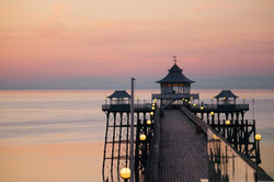 Sunset Photography Seaside Town