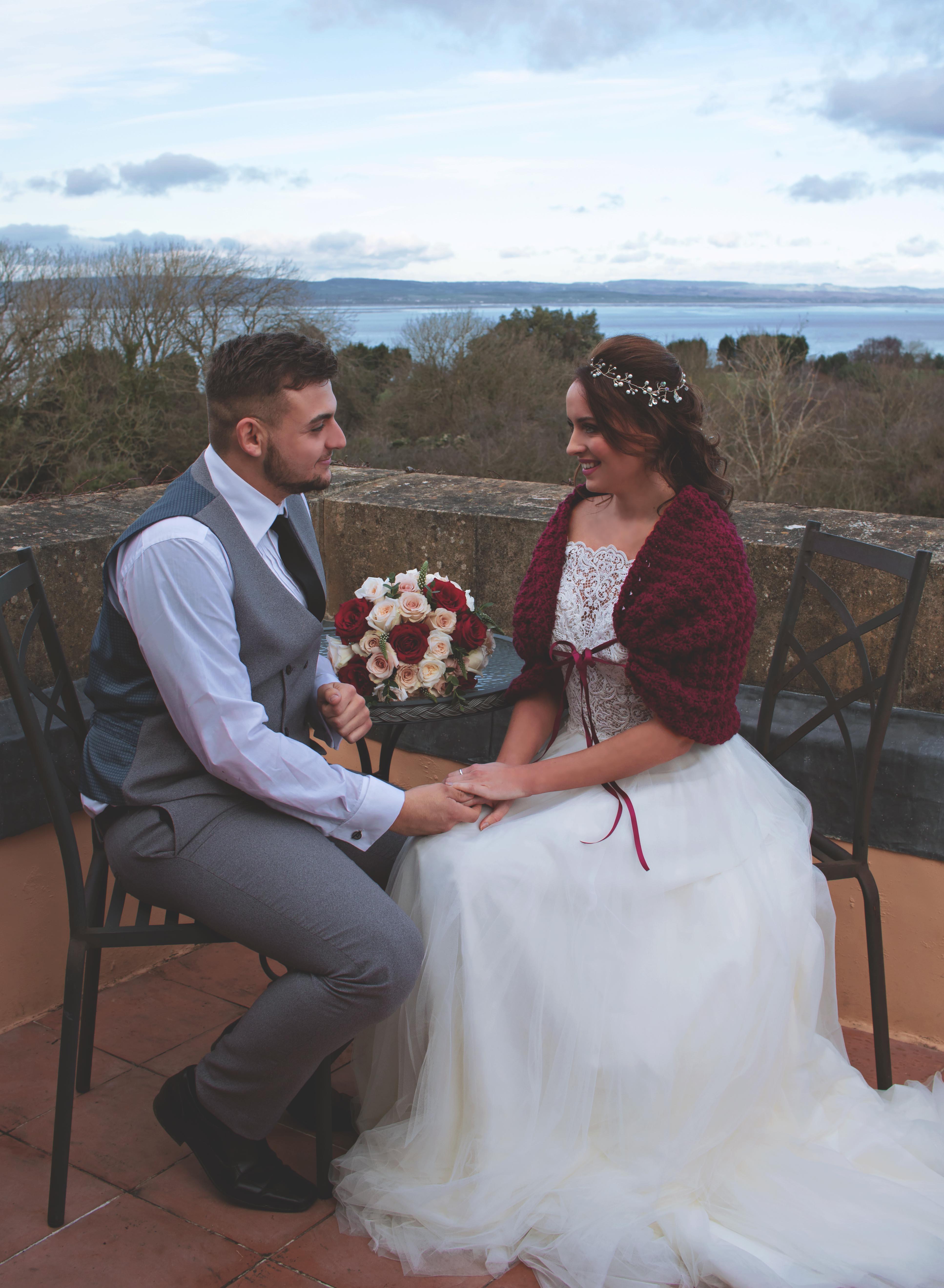Fairy-tale Castle Couple Shots at Walton Castle