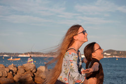 Relaxed Family Portraits in France on Holiday