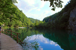 Stunning National Park Lakes in Croatia
