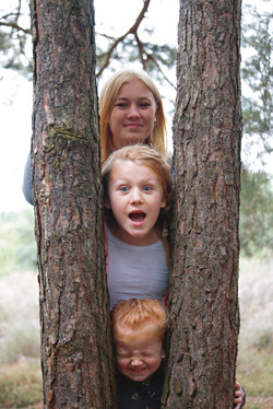Family Portraits in Surrey in Autumn