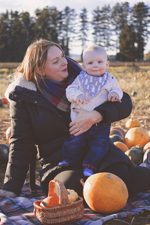 Pumpkin Mini Photography Session in Surrey
