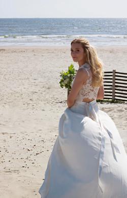 Beautiful Bridal Shots at the Beach