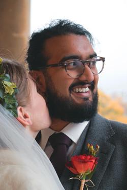Intimate Couple Shots Somerset Wedding