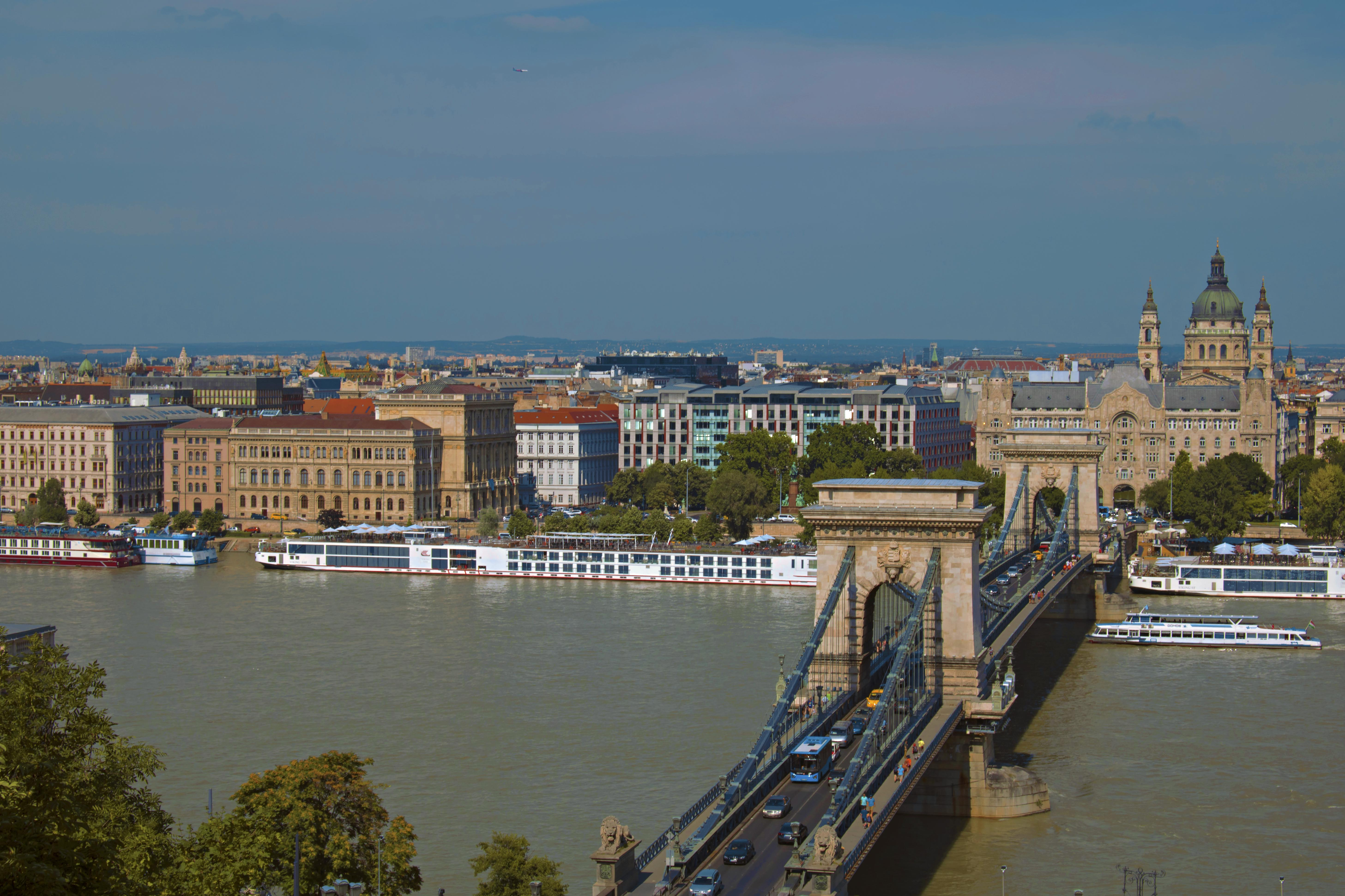 Travel Photography Budapest Aerial Shot