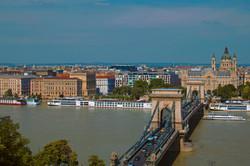 Travel Photography Budapest Aerial Shot