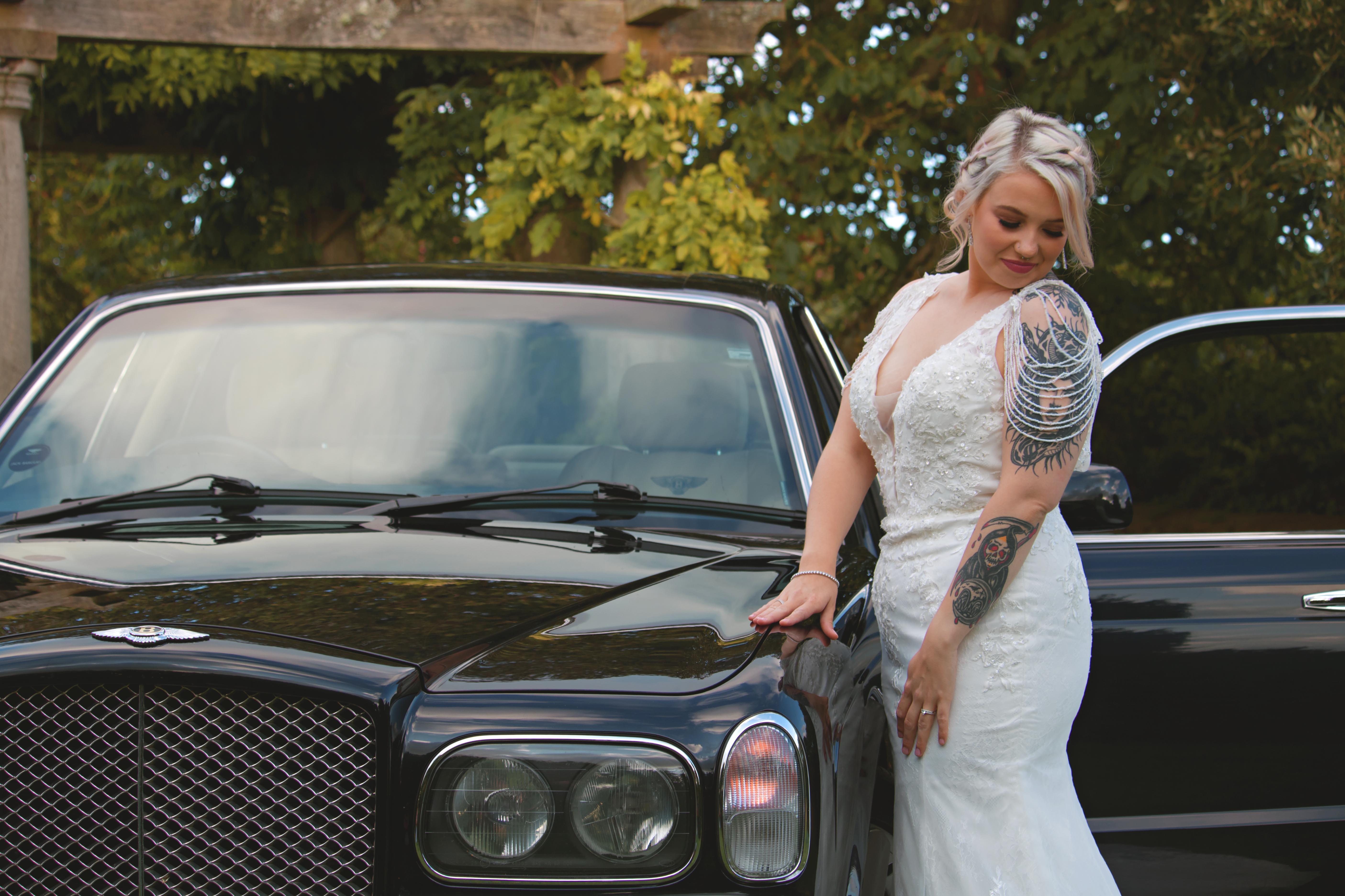 Bentley & 1920s Themed Bride