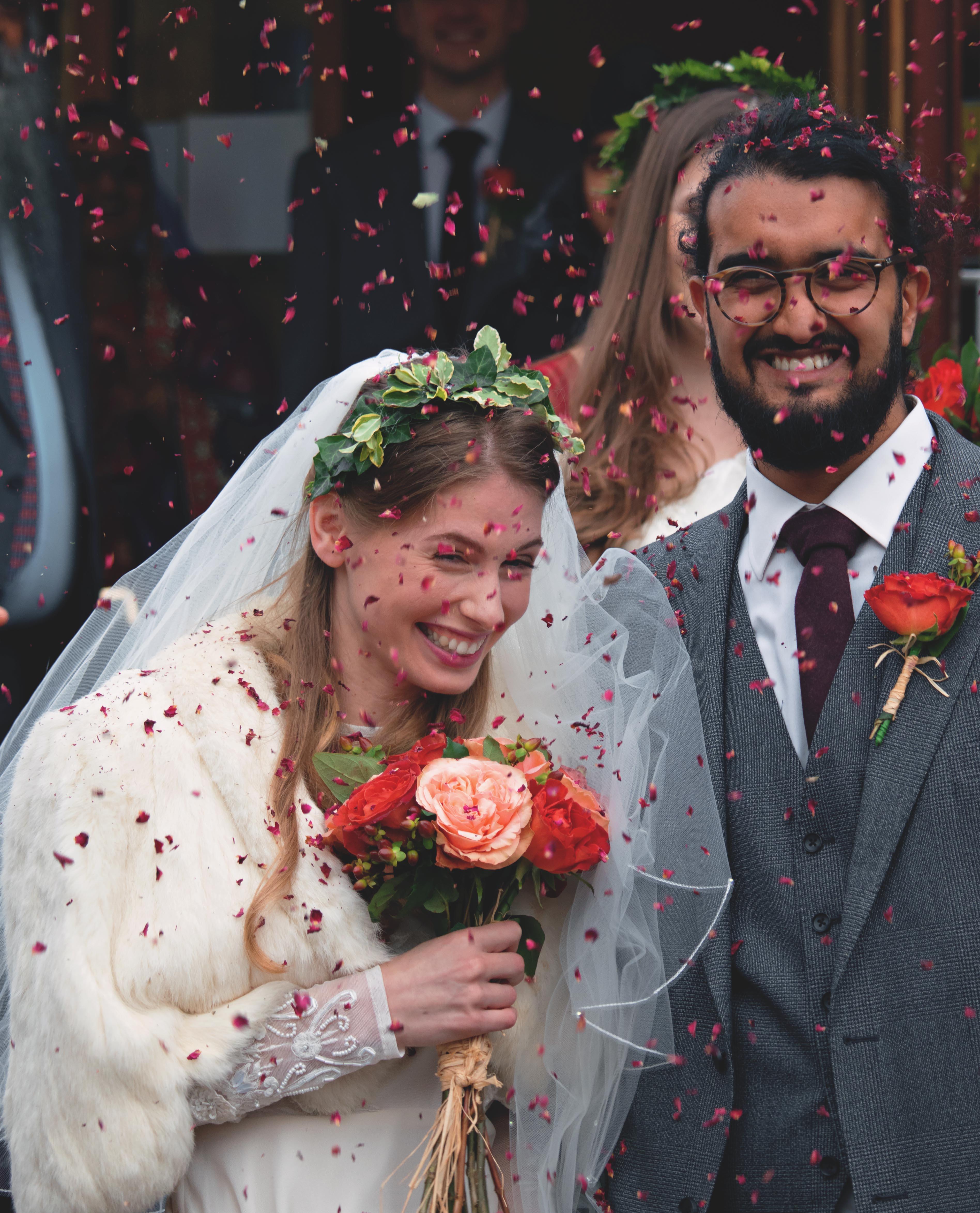 Somerset Wedding Confetti Shot