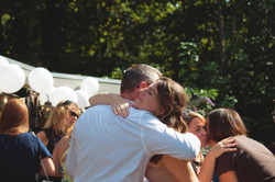 Relaxed Wedding Reception Photography