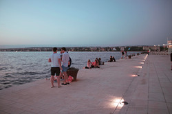 Zadar, Sea Organ, Sunset