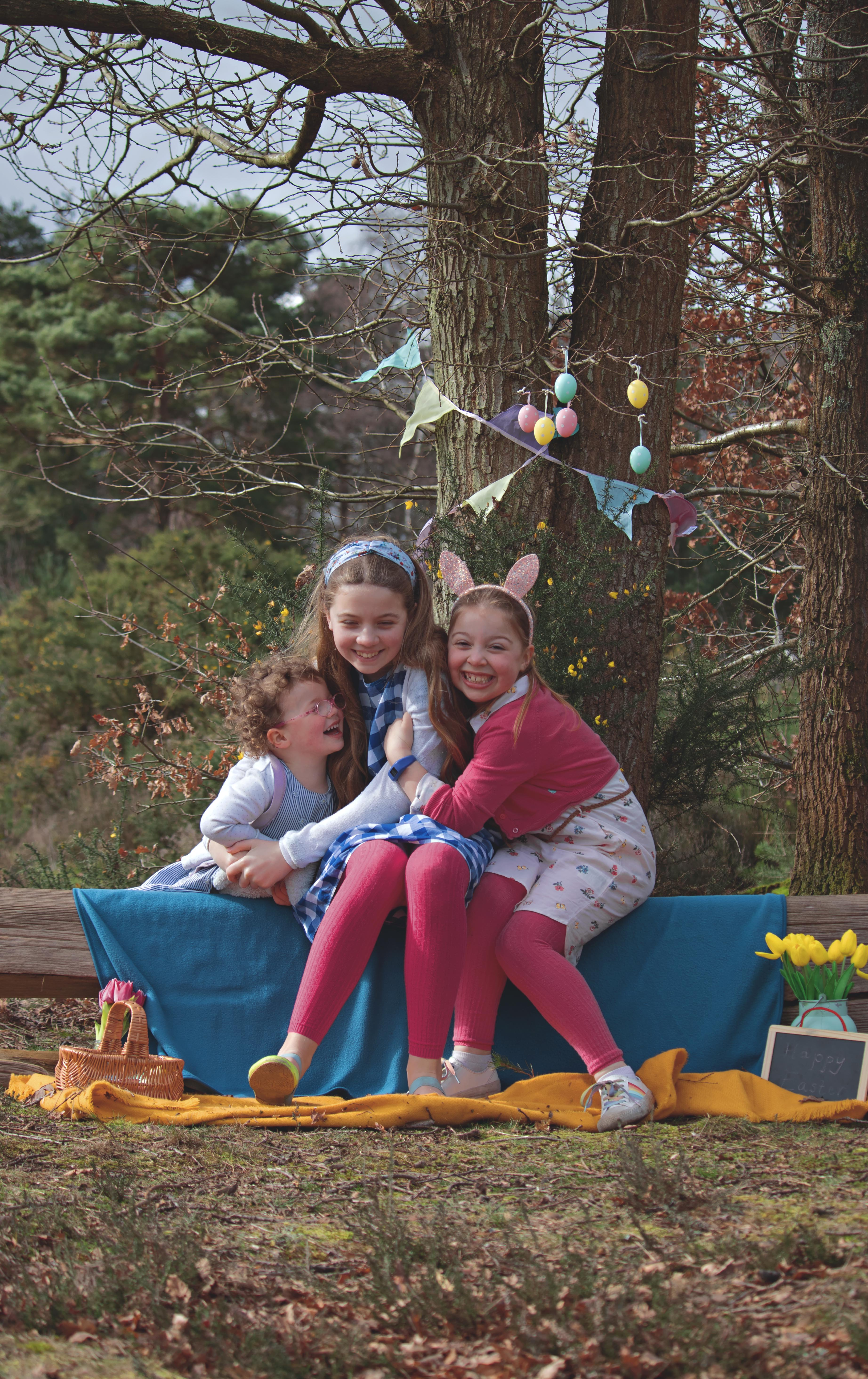 Documentary Family Portraits at Easter Time in Surrey