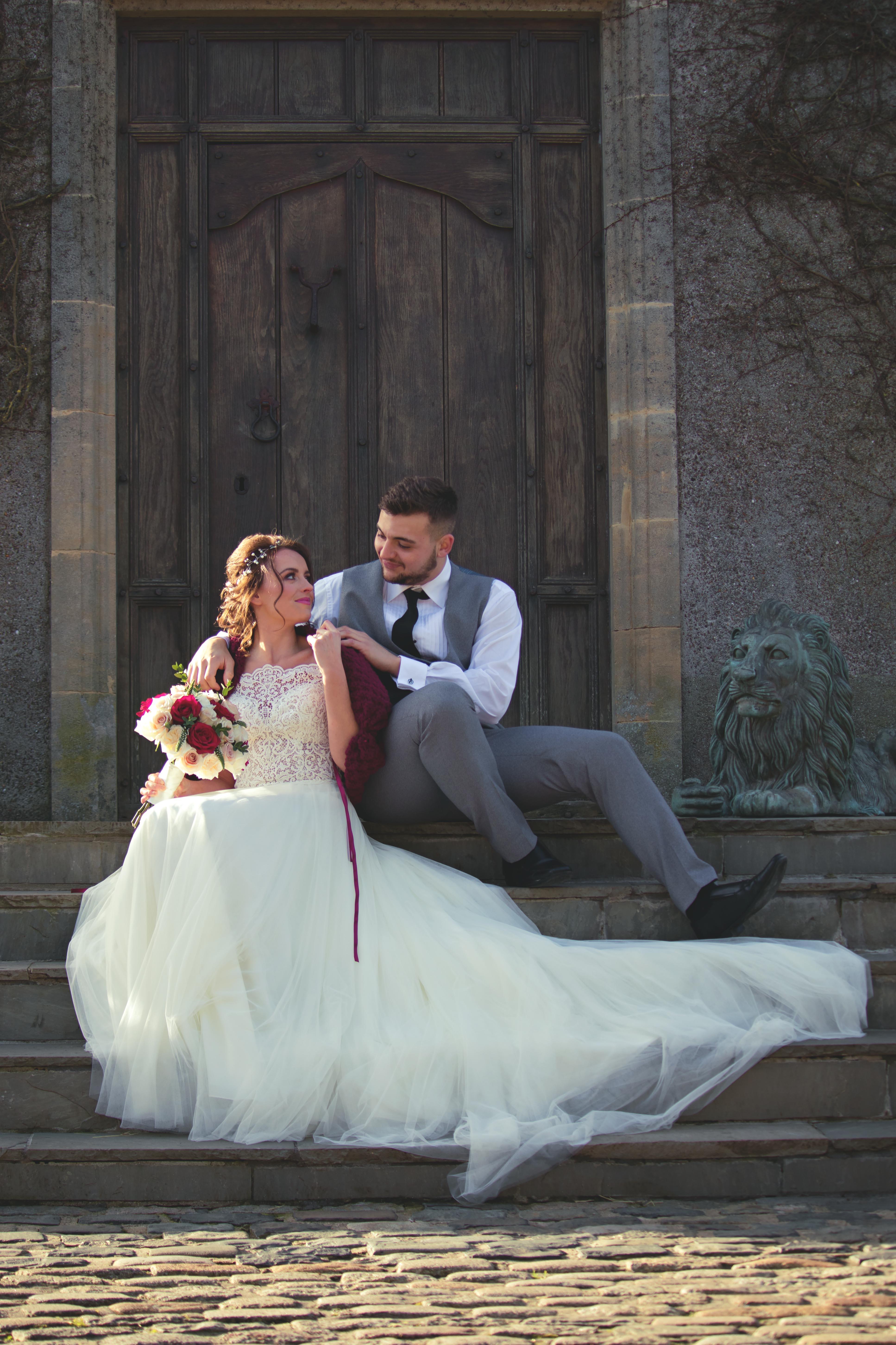 Magical Fairy-tale Castle Couple Shots