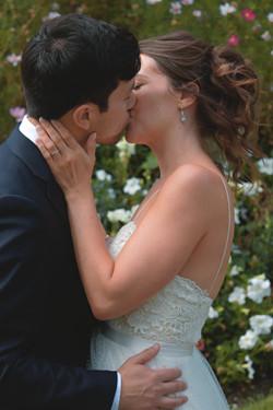Intimate Couple Shots for Surrey Summertime Wedding