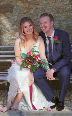 Relaxed Couple Shots at Surrey Wedding