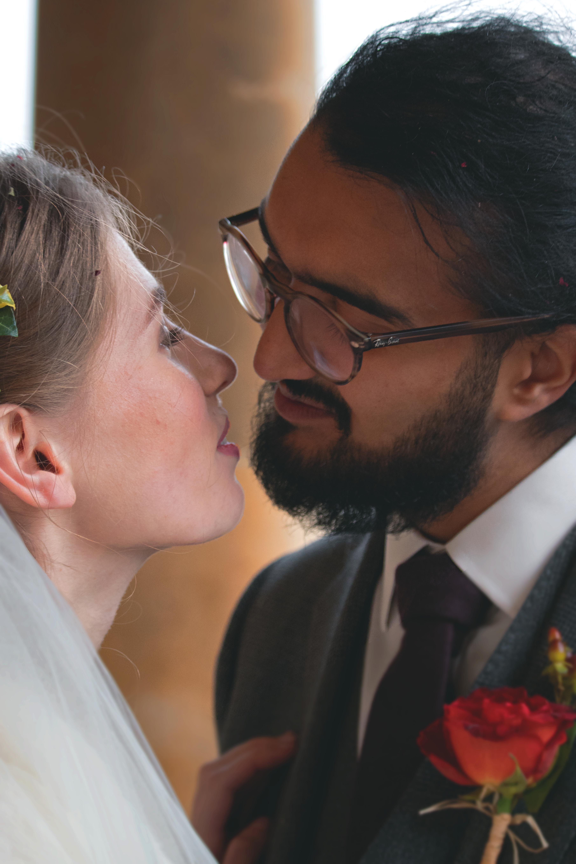 Intimate Couple Shots Bath Wedding