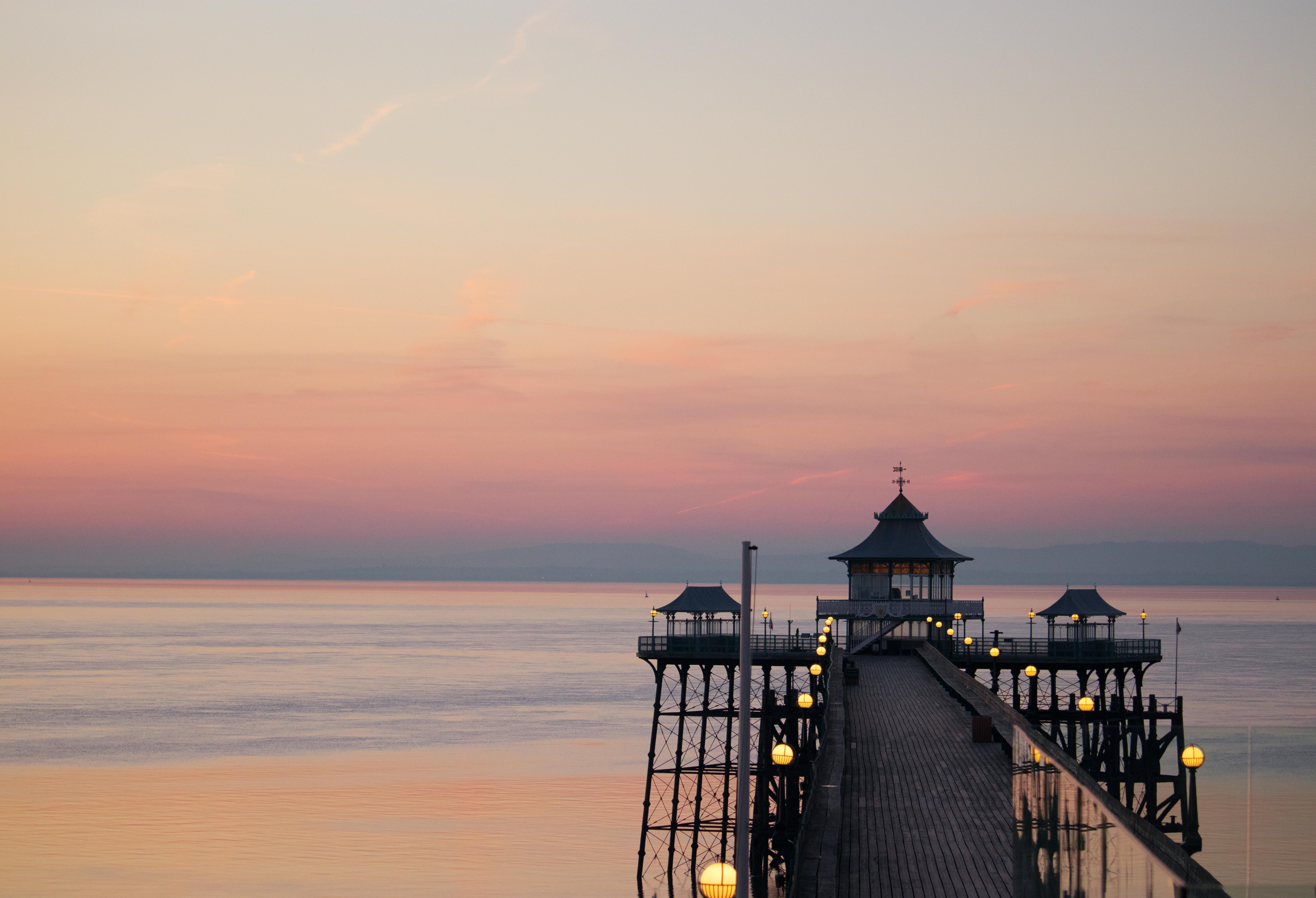 Clevedon Pier WalkWay Sunset