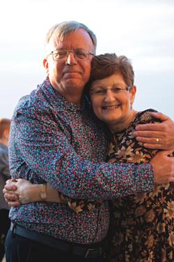 Husband & Wife 70th Birthday Celebrationin Clevedon