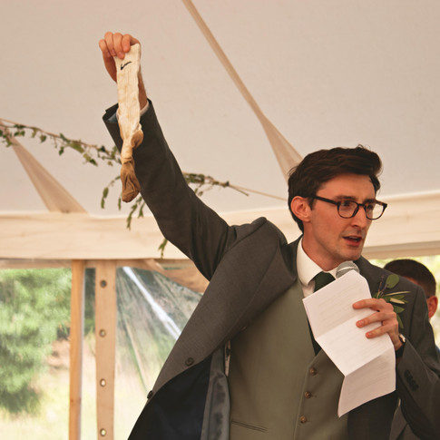 Is this your sock? Best Man Speech
