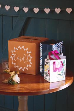 Gift Table Wedding Reception