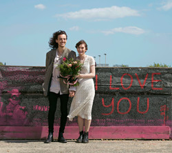 """Spring Couple Portraits by """"I Love You Graffiti"""""""