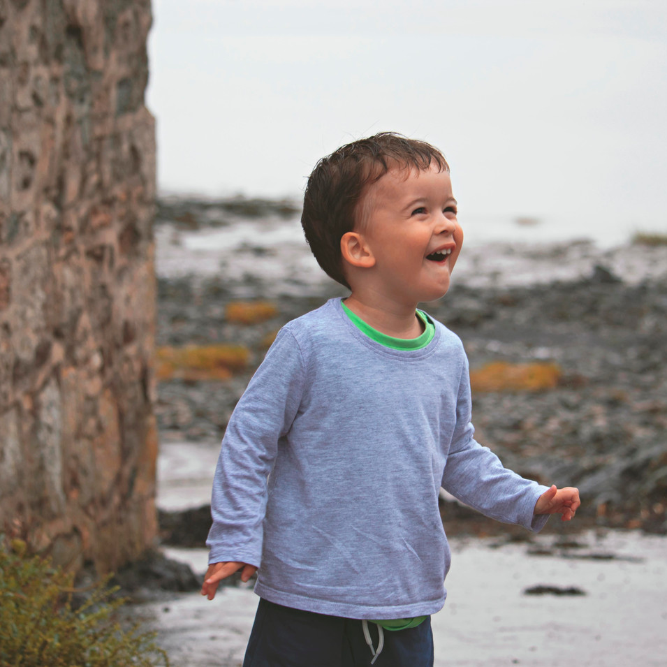 Candid Family Portraits in Clevedon, Somerset