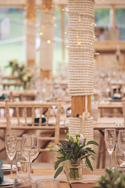 Marquee Wedding Set Up