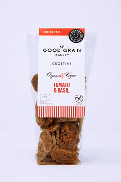 Good Grain Bakery Crostini Tomato & Basil