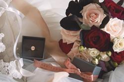 1920s Themed Wedding Jewellery Flat Lay