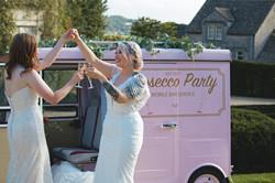 Romantic Couple Shots with Prosecco Tuk-Tuk